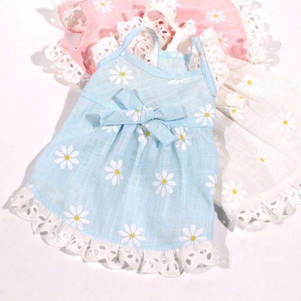dog flower girl dress