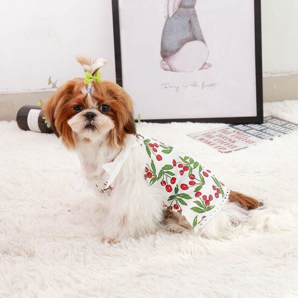 girls puppy dress
