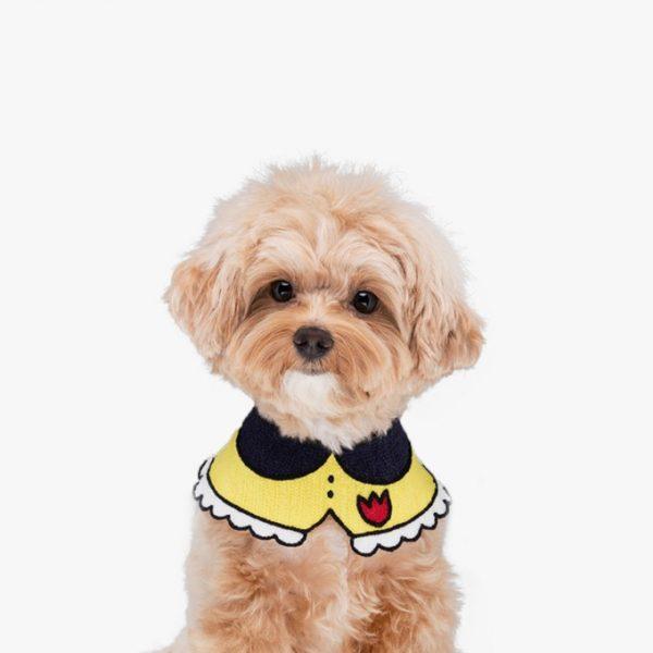 embroidered dog bandana
